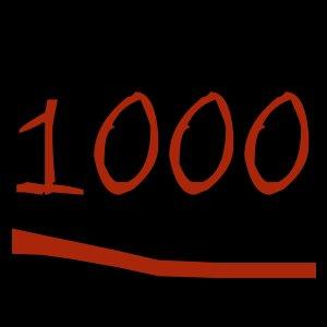 Y llegamos alas 1000 :D