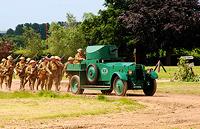 En Rolls-Royce a la guerra