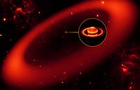 Descubren un nuevo anillo gigante rodeando a Saturno